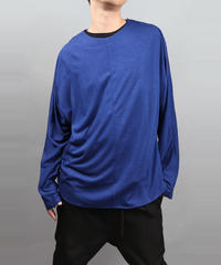 DOLMAN SLEEVE T-SHIRT BLUE