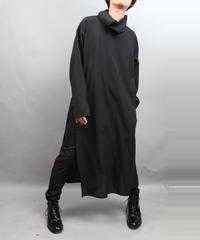 TURTLENECK TUNIC BLACK