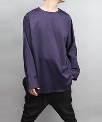 60/2 T-CLOTH DOLMAN SLEEVE T-SHIRT/ PURPLE