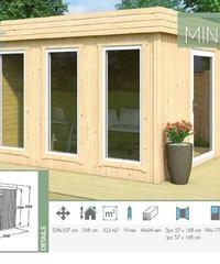 MINI CUBE (10.3㎡) 樹脂窓