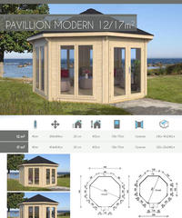 PAVILLION MORDERN 12㎡ 2glass panels