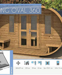 CAMPING OVAL 360 Thermowood