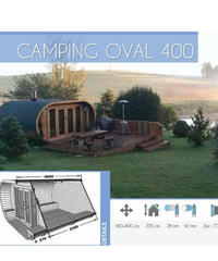 CAMPING OVAL 400 Thermowood