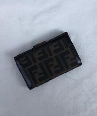 FENDI / vintage zukka design  wallet ②.