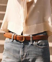 Ralph Lauren/vintage brown belt.
