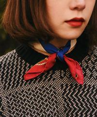 CELINE/ mulch design mini scarf.