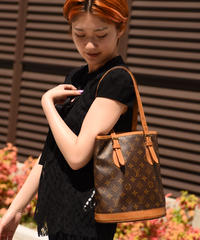 Louis Vuitton/vintage petit bucket tote bag.