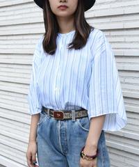 Acne Studios/ Stripe dolman shirt.