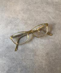 Ralph Lauren/ vintage cream beige  flame glasses.