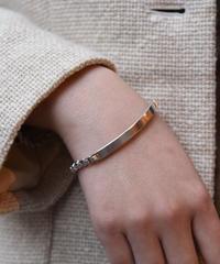 Tiffany&Co./vintage plate design bracelet.