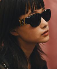 """Yves Saint Laurent / vintage """"YSL"""" design sunglasses.(U)"""