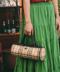 Burberry/vintage nova check hand bag.