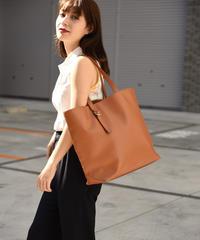 JIL SANDER NAVY / vintage  leather big tote bag.
