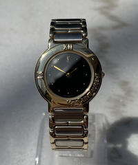 Yves saint Laurent/ vintage silver quartz. 011.