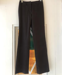 courreges/straight skinny pants.