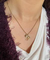 Chloe/vintage key motif necklace. 504002 A(U)