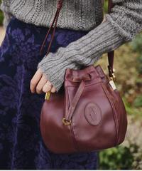 Cartier/vintage must line shoulder bag.