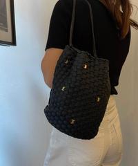 Salvatore Ferragamo/vintage  vara   net shoulder  bag.