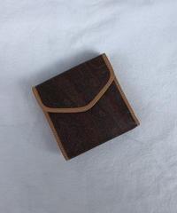 ETRO / vintage paisley design wallet.