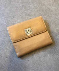 Salvatore Ferragamo/vintage gantini motif wallet.(M)