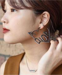 Christian Dior/ silver pierce
