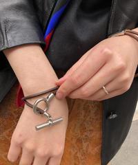 HERMES/ vintage toggle bracelet.  430018T