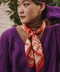 FENDI / vintage  design logo scarf