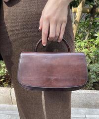 PRADA/vintage leather  handbag.