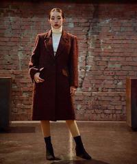 YvesSaintLaurent/tweed  chester coat.
