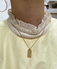 Christian Dior/ vintage tag necklace.515008 A(U)