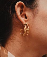 SalvatoreFerragamo/ vintage gancini earring.
