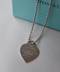 """Tiffany&Co./vintage """"RETURN TO TIFFANY""""  necklace.  428017  A(U)"""