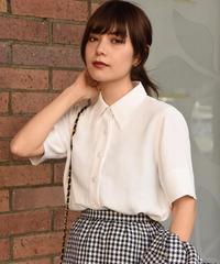 agnes b. / vintage  waist rib polo shirt.