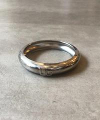 Dolce&Gabbana/ silver logo bangle.(U)