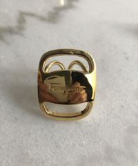 SalvatoreFerragamo/VARA scarf ring. 430004 A(S)