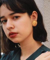 CELINE/vintage gold design earring.513022H (S)