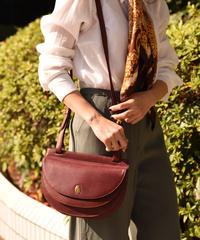 Cartier / vintage mustline design shoulder bag.