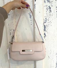 BVLGARI / vintage design pink bag.