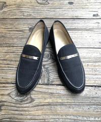 GUCCI/vintage patent leather square  loafer(BLK)(U)