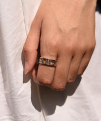 """Tiffany&Co. / vintage """"ATLAS"""" open work ring."""