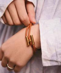 HERMES/vintage tournis tresse bracelet.(U)