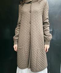 VALENTINO GARAVANI / vintage quilting knit coat.
