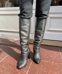 FENDI/vintage leather long boots.