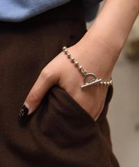 GUCCI/vintage ball chain circle bracelet.