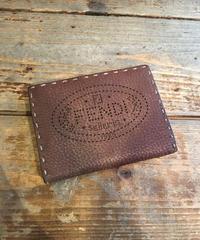 FENDI/vintage  leather logo  wallet.
