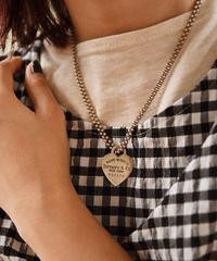 Tiffany&Co./return to Tiffany Heart motif charm