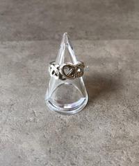Tiffany&Co./vintage loving heart motif  ring .