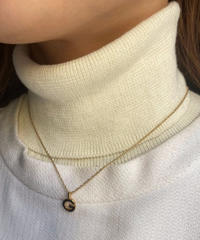 Givenchy / vintage G logo gold necklace.(P)8
