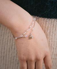 courreges/vintage logo  motif design  bracelet.