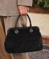 agnes b./ vintage suède handbag.